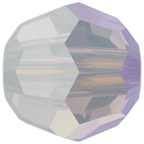 Swarovski 5000 8mm Round Beads White Opal Shimmer