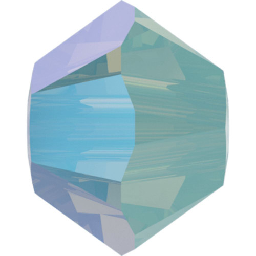 Swarovski 5328 6mm Xilion Bicone Beads Pacific Opal Shimmer