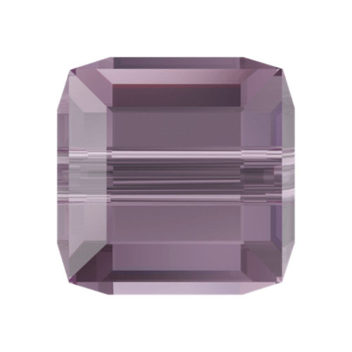 Swarovski 5601 4mm Cube Beads Iris