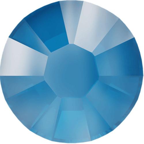 Swarovski 2078 34ss Xirius Flatback Crystal Electric Blue DeLite Hot Fix