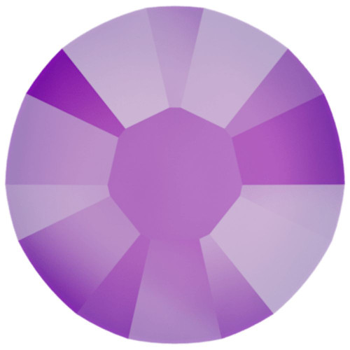 Swarovski 2088 20ss Xirius Flatback Crystal Electric Violet DeLite