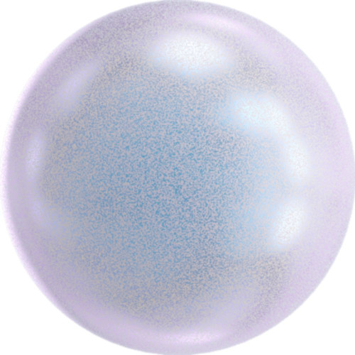 Swarovski 5810 5mm Round Pearls Iridescent Dreamy Blue