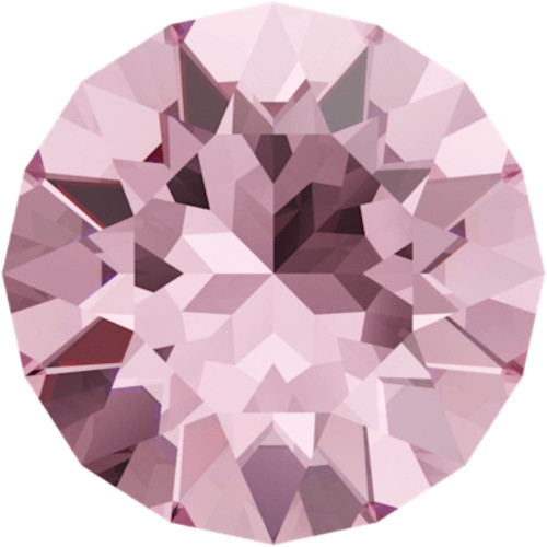 Swarovski 1088 28pp Xirius Round Stones Light Rose