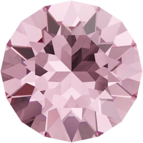 Swarovski 1088 18ss Xirius Round Stones Light Rose
