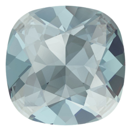 Swarovski 4470 10mm Cushion Fancy Stones Aquamarine Ignite