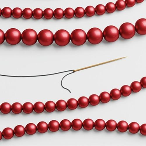 Swarovski 5810 12mm Round Pearls Rouge (100  pieces)