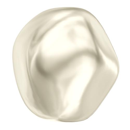 Swarovski  5841 12mm Baroque Round Pearls Cream
