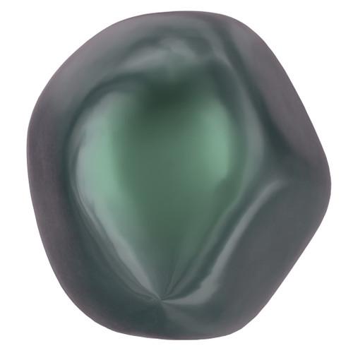 Swarovski  5841 8mm Baroque Round Pearls Crystal Iridescent Tahitian