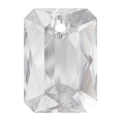 Swarovski  6435 11.5mm Emerald Cut Pendants Crystal