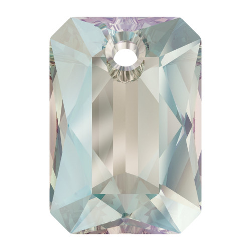 Swarovski  6435 16mm Emerald Cut Pendants Crystal Shimmer