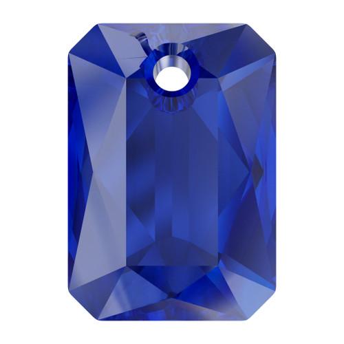 Swarovski  6435 16mm Emerald Cut Pendants Majestic  Blue
