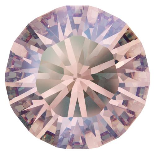 Swarovski  1028 7pp Xilion Round Stones Light Rose Shimmer