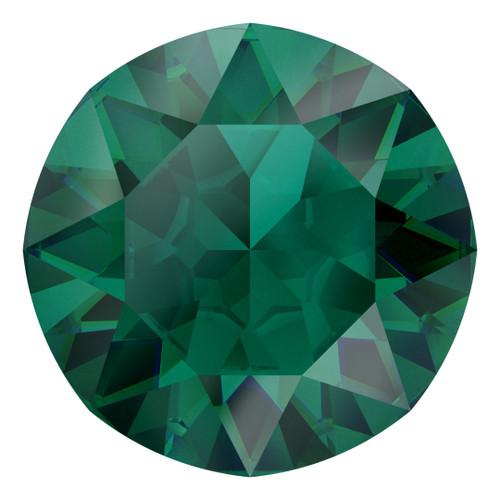 Swarovski  1088 29ss Xirius Round Stones Emerald Ignite