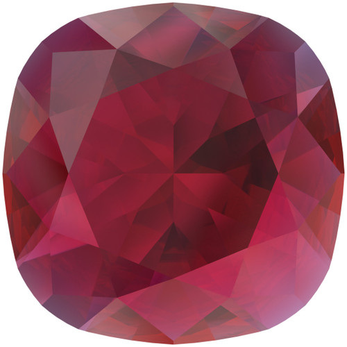 Swarovski  4470 10mm Cushion Fancy Stones Scarlet Ignite