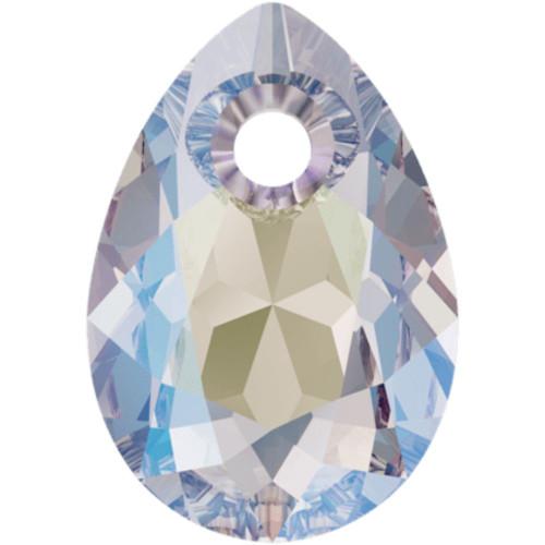 Swarovski 6433 11.5mm Pear Cut Pendants Crystal Shimmer