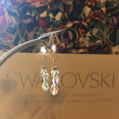 Swarovski Crystal Angel Earring Kit (1 pair of earrings)