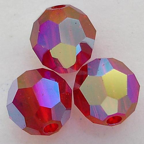 Swarovski 5000 6mm Round Beads Siam AB 2X  (360 pieces)