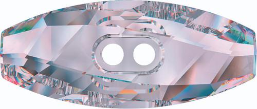 Swarovski 3024 32mm Dufflecoat Crystal Button Crystal AB (30  pieces)