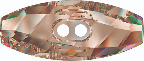 Swarovski 3024 23mm Dufflecoat Crystal Button Crystal Bronze Shade (36  pieces)