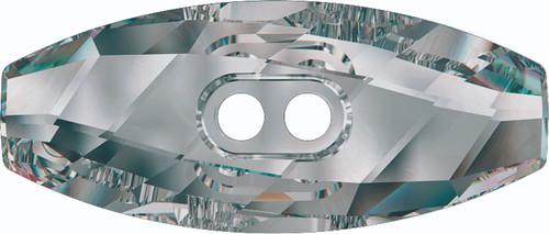 Swarovski 3024 23mm Dufflecoat Crystal Button Jet Hematite (36  pieces)