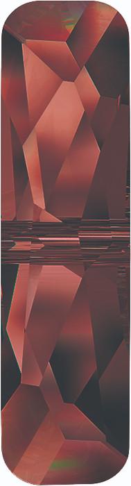 Swarovski 5534 14mm Column Bead  (one hole) Crystal Red Magma
