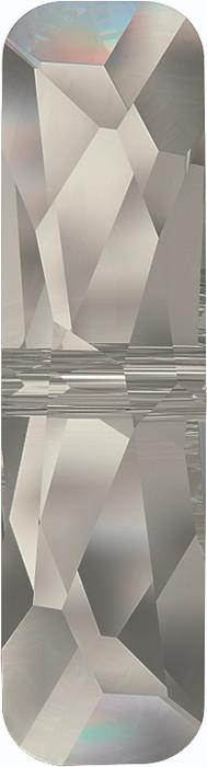 Swarovski 5534 19mm Column Bead  (one hole) Crystal Silver Shade