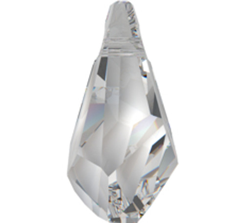 Swarovski 6015 17mm Polygon Drop Pendant Jet (72  pieces)