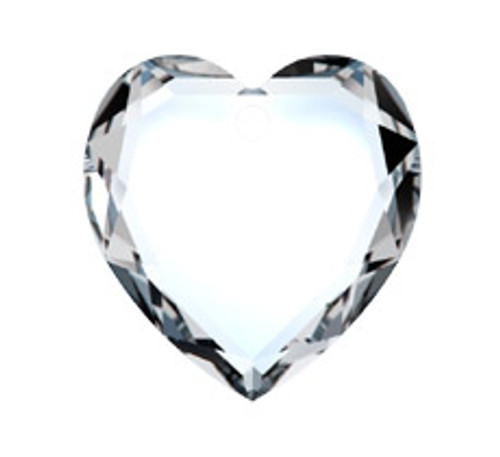 Swarovski 6225 18mm Flat Heart Pendant Crystal Golden Shadow (24  pieces)