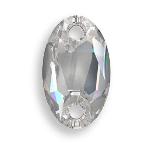Swarovski 3231 28mm Oval Sew On x17 Crystal
