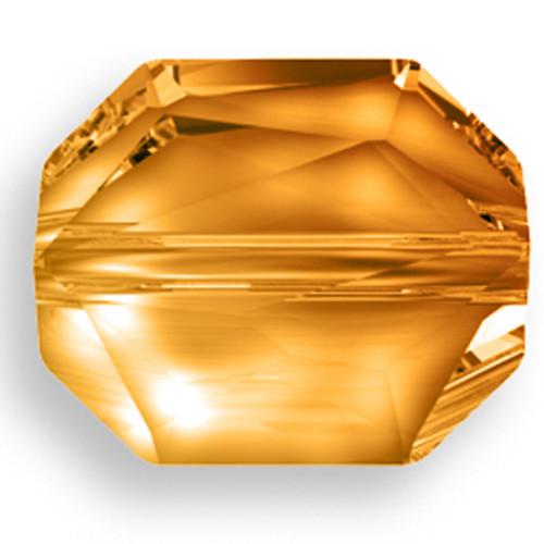 Swarovski 5520 18mm Graphic Beads Crystal Copper