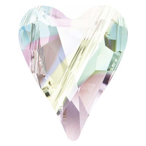 Swarovski 5743 17mm Wild Heart Beads Crystal AB