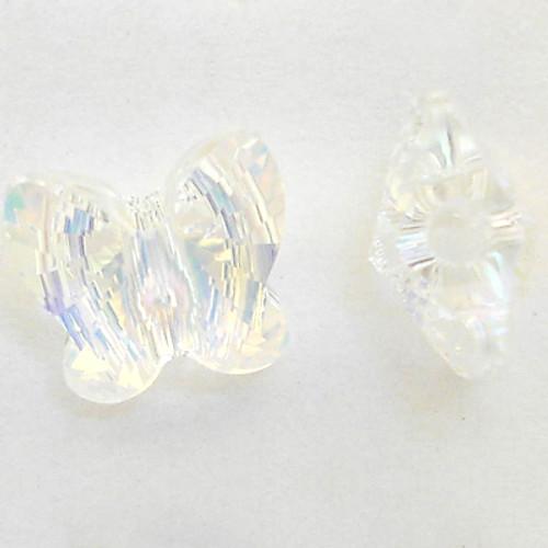 Swarovski 5754 12mm Butterfly Beads Crystal AB