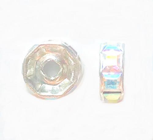 Swarovski 5832 6mm Rhinestone Rondelles Crystal AB