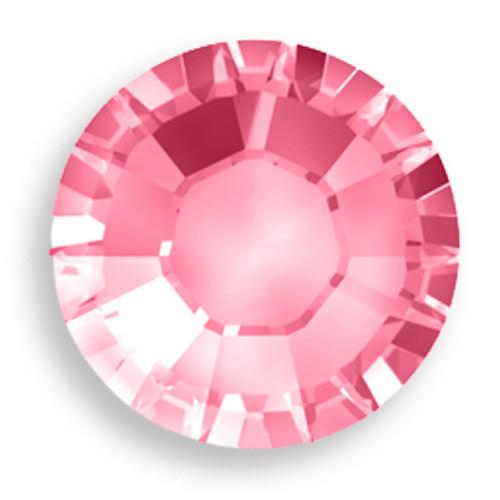 Swarovski 5840 3mm Crystal Headpins Rose
