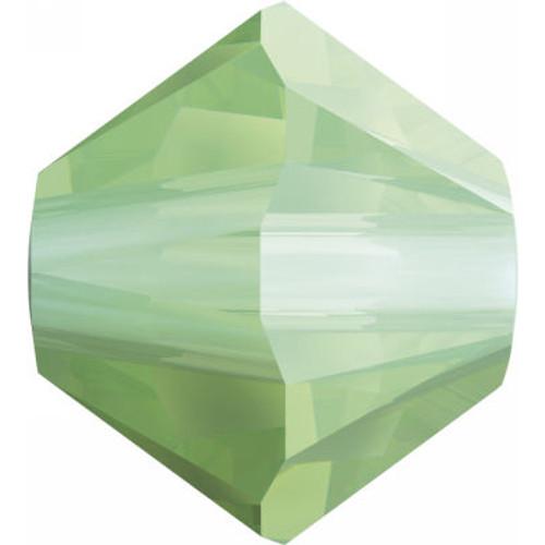 Swarovski 5328 4mm Xilion Bicone Beads Chrysolite Opal
