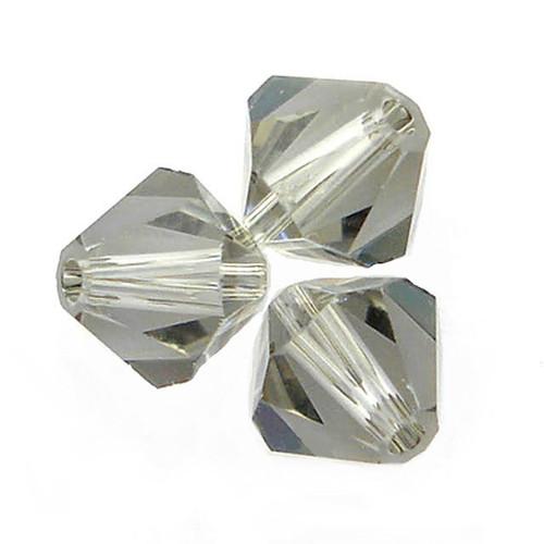 Swarovski 5328 6mm Xilion Bicone Beads Black Diamond