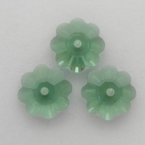 Swarovski 3700 10mm Marguerite Beads Erinite