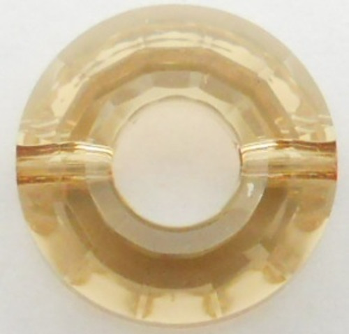Swarovski 5139 12mm Ring Beads Crystal Golden Shadow