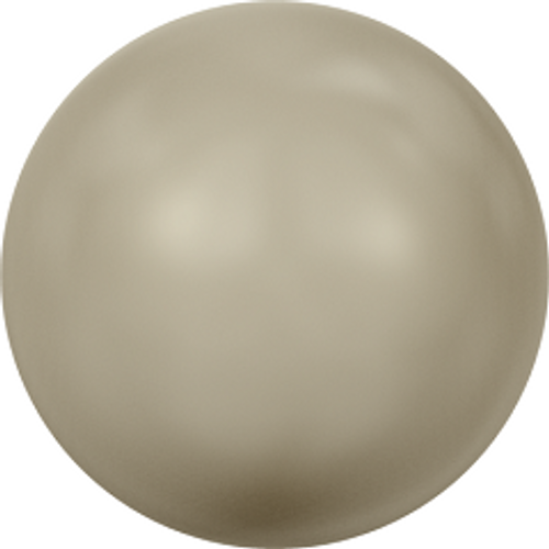 Swarovski 5810 3mm Round Pearls Platinum