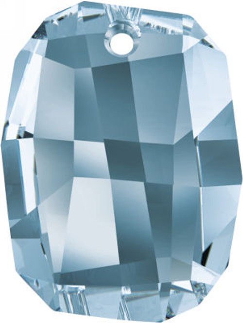 Swarovski 6685 19mm Graphic Pendant Denim Blue