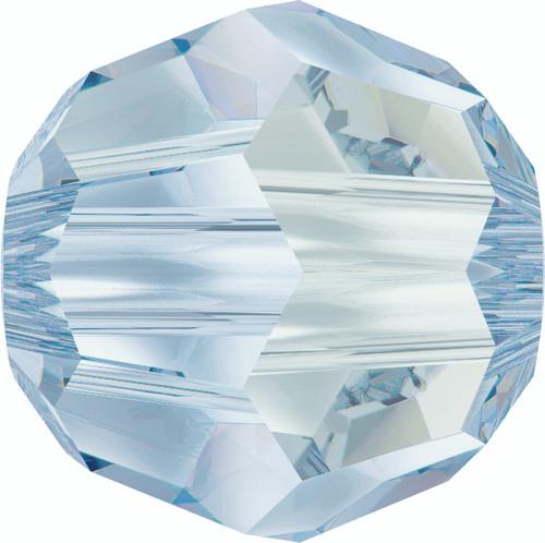 Swarovski 5000 8mm Round Beads Crystal  Blue Shade  (12 pieces)