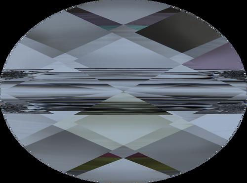 Swarovski 5051 10mm Mini Oval Beads Crystal  Blue Shade  (144 pieces)