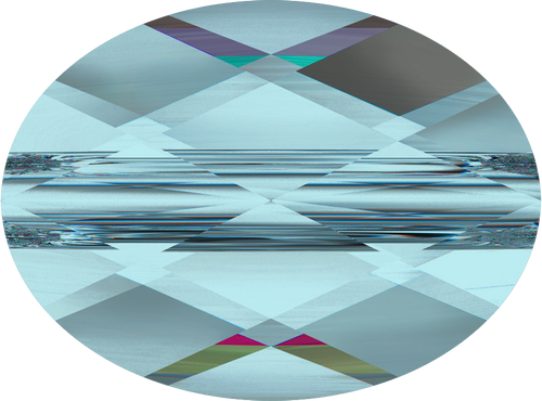 Swarovski 5051 10mm Mini Oval Beads Light  Turquoise  (144 pieces)