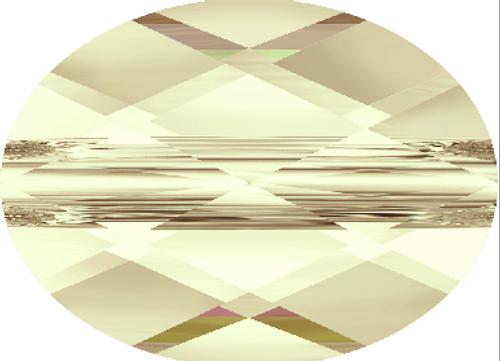 Swarovski 5051 8mm Mini Oval Beads Light Silk (288 pieces)