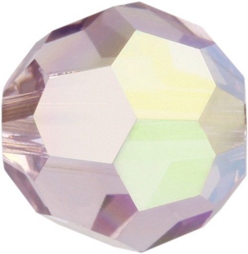Swarovski 5000 6mm Round Beads Light Amethyst AB Fully Coated  ( 360 pieces)