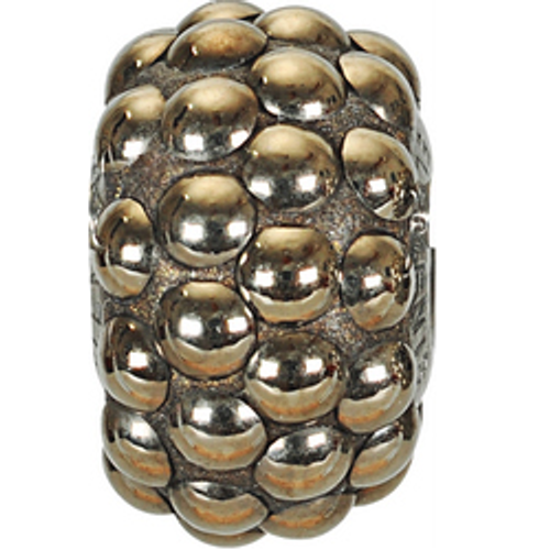 Swarovski 80501 15.5mm BeCharmed Pavé Cabochon Beads with Crystal Metallic Gold Stones on Metallic Gold base (12 pieces)