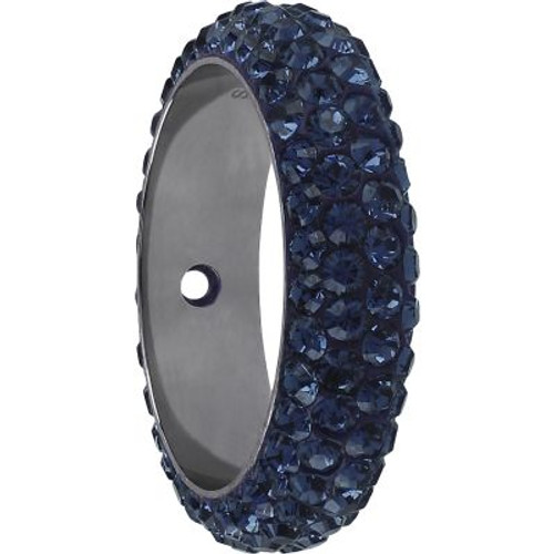 Swarovski 85001 16.5mm BeCharmed Pave Thread Ring Montana (6 pieces )
