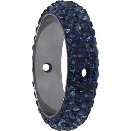 Swarovski 85001 14.5mm BeCharmed Pave Thread Ring Montana (6 pieces )