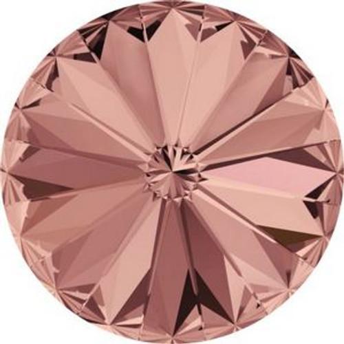 Swarovski 1122 12mm Xilion Round Stones Blush Rose