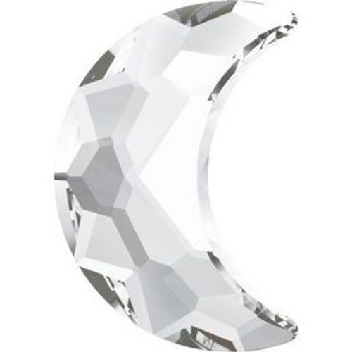 Swarovski 2813 14mm Moon Flatback Crystal